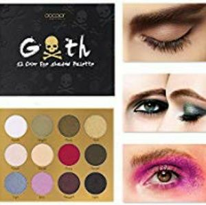 💀Docolor Goth Eye Shadow Palette!!